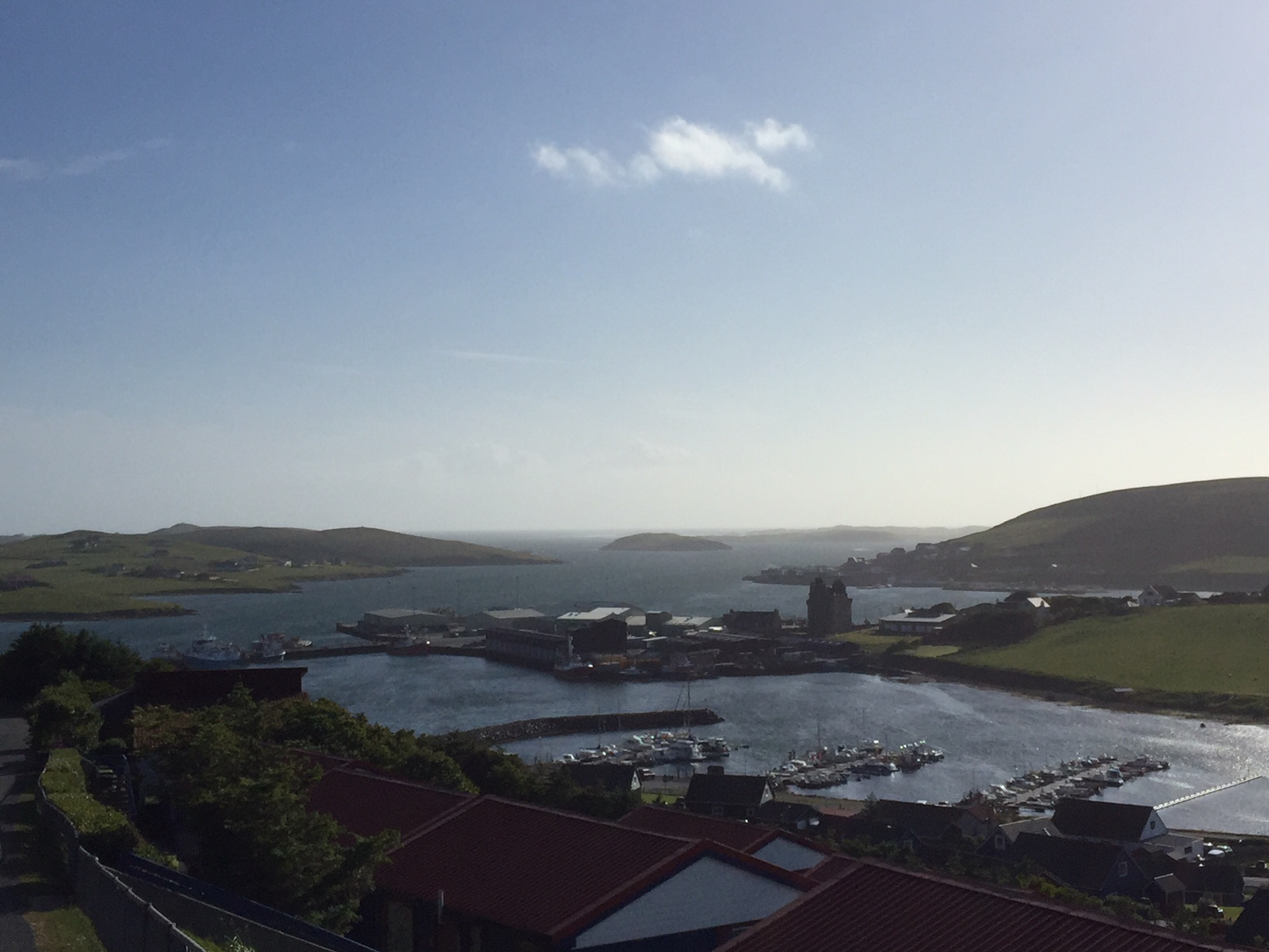 Scalloway seen by day